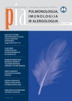 Pulmonologija, imunologija ir alergologija 2012 m. I numeris
