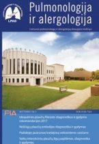 Pulmonologija ir alergologija 2017 m. II numeris