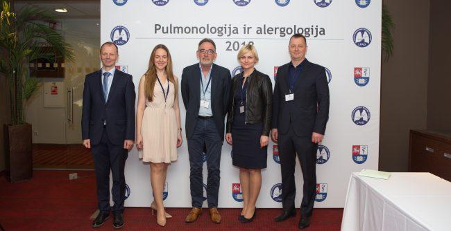 """Akimirkos iš konferencijos """"Pulmonologija ir alergologija 2018"""""""