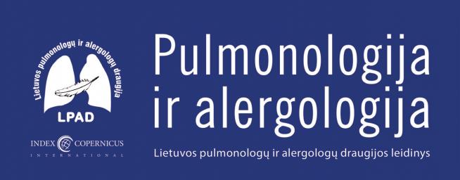 """Žurnalas """"Pulmonologija ir alergologija"""" įtrauktas į tarptautinę Index Copernicus duomenų bazę"""